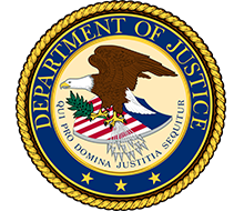 logo: Department of Justice