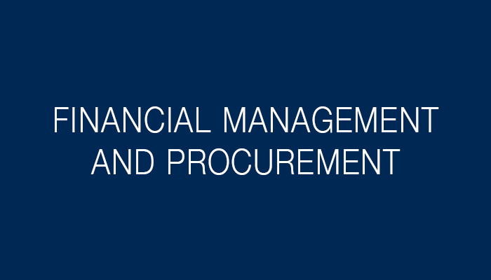 Financial Management and Procurement